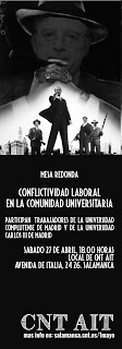 Conflictividad Laboral en la Comunidad Universitaria
