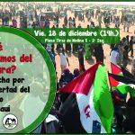 [18 Dic.] Coloquio «¿Qué sabemos del Sáhara? La lucha por la libertad del pueblo saharaui»