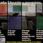 Jornadas sobre educación y anarquismo